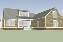 House Plan Design - Colonial Exterior - Rear Elevation Plan #991-26