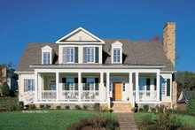Classical Exterior - Front Elevation Plan #429-85