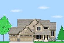 Home Plan - Prairie Exterior - Front Elevation Plan #981-15