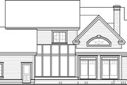 Traditional Style House Plan - 4 Beds 3.5 Baths 2889 Sq/Ft Plan #23-329 Exterior - Other Elevation