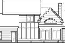 Dream House Plan - Traditional Exterior - Other Elevation Plan #23-329
