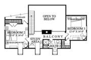 Colonial Style House Plan - 3 Beds 2.5 Baths 2152 Sq/Ft Plan #137-373 Floor Plan - Upper Floor Plan