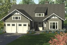Craftsman Exterior - Front Elevation Plan #453-614