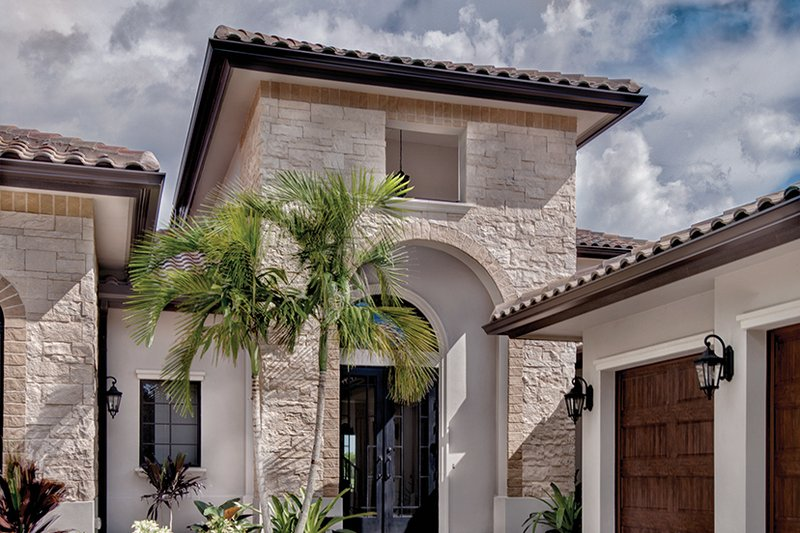 Mediterranean Exterior - Front Elevation Plan #930-449 - Houseplans.com