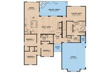 European Floor Plan - Main Floor Plan Plan #923-51