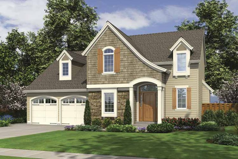 House Plan Design - Colonial Exterior - Front Elevation Plan #46-798