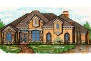 European Style House Plan - 4 Beds 4 Baths 3205 Sq/Ft Plan #135-177