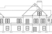 Craftsman Style House Plan - 3 Beds 2.5 Baths 2878 Sq/Ft Plan #119-424 Exterior - Rear Elevation