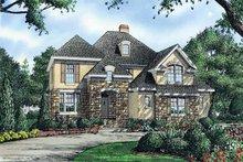 Dream House Plan - Cottage Exterior - Front Elevation Plan #929-843