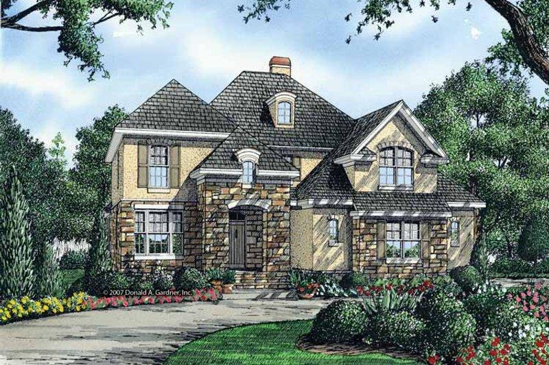 Cottage Exterior - Front Elevation Plan #929-843 - Houseplans.com