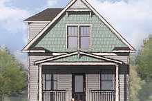 Architectural House Design - Craftsman Exterior - Front Elevation Plan #936-3