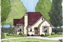 House Design - European Exterior - Front Elevation Plan #410-131