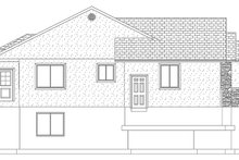 Dream House Plan - Ranch Exterior - Other Elevation Plan #1060-12