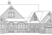 Craftsman Style House Plan - 4 Beds 4 Baths 2896 Sq/Ft Plan #929-970 Exterior - Front Elevation