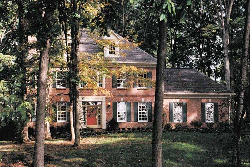Classical Exterior - Front Elevation Plan #46-576 - Houseplans.com