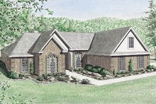 Traditional Exterior - Front Elevation Plan #34-123