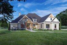 House Blueprint - Cottage Exterior - Front Elevation Plan #929-1132