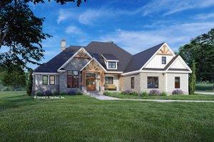 Cottage Exterior - Front Elevation Plan #929-1132