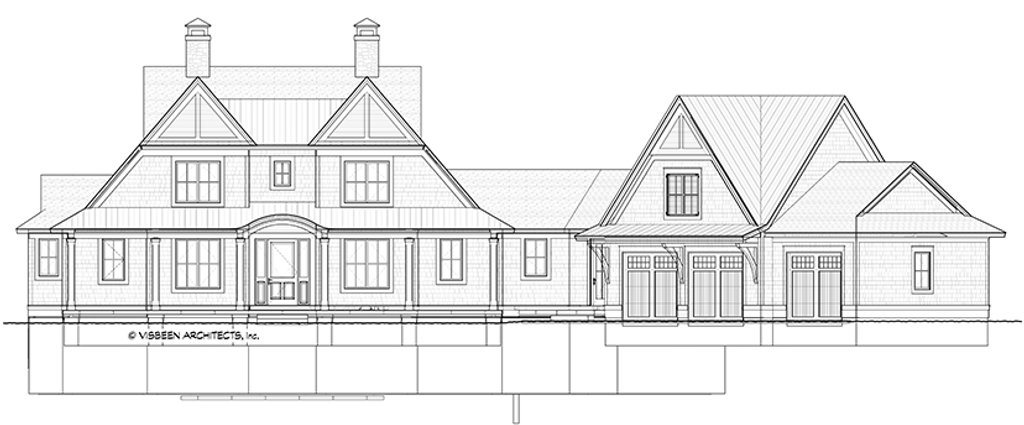 country style house plan - 4 beds 3 5 baths 3829 sq  ft plan  928-294