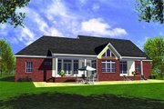 Farmhouse Style House Plan - 3 Beds 3 Baths 2138 Sq/Ft Plan #21-132 Exterior - Rear Elevation
