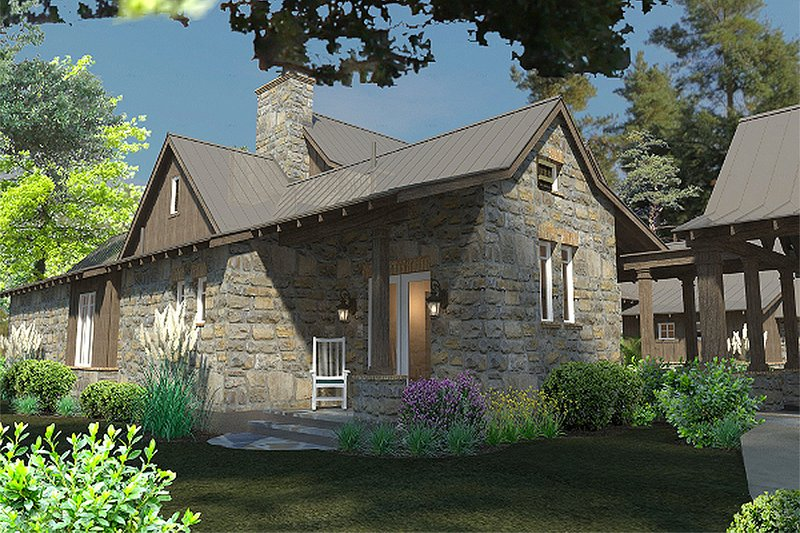 Craftsman Exterior - Other Elevation Plan #120-186 - Houseplans.com