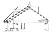 Dream House Plan - Southern Exterior - Other Elevation Plan #45-284