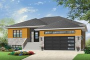 Ranch Style House Plan - 2 Beds 2 Baths 1600 Sq/Ft Plan #23-2623 Exterior - Front Elevation