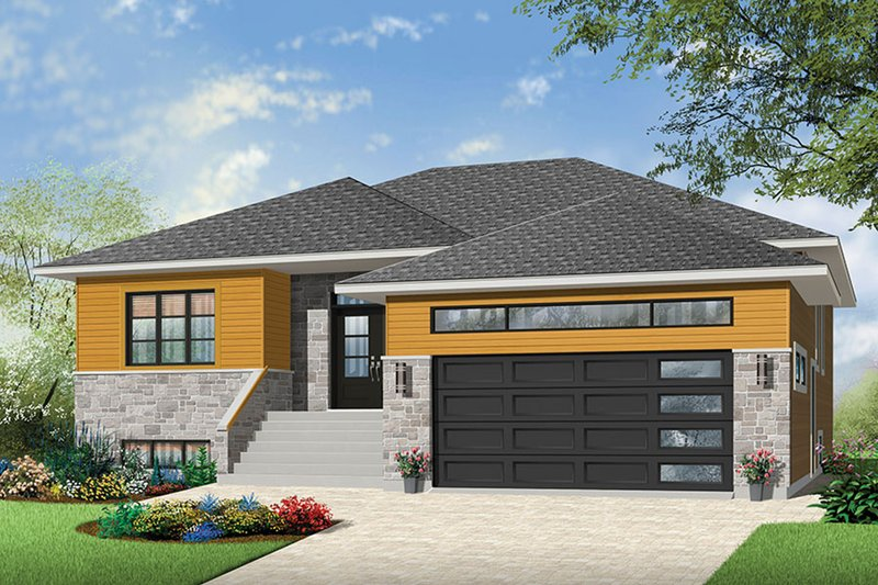 Dream House Plan - Ranch Exterior - Front Elevation Plan #23-2623