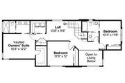 Modern Style House Plan - 4 Beds 3 Baths 1867 Sq/Ft Plan #124-922 Floor Plan - Upper Floor Plan