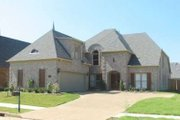 European Style House Plan - 3 Beds 3.5 Baths 2929 Sq/Ft Plan #81-1573 Exterior - Front Elevation