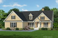 Dream House Plan - Ranch Exterior - Front Elevation Plan #929-352