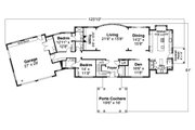 Colonial Style House Plan - 5 Beds 5.5 Baths 4448 Sq/Ft Plan #124-1230