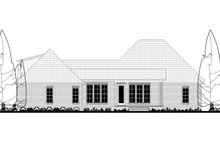Country Exterior - Rear Elevation Plan #430-176