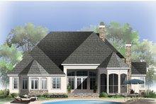 Dream House Plan - European Exterior - Rear Elevation Plan #929-21