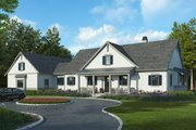 Farmhouse Style House Plan - 3 Beds 2.5 Baths 3154 Sq/Ft Plan #928-325 Exterior - Front Elevation