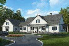 House Plan Design - Farmhouse Exterior - Front Elevation Plan #928-325
