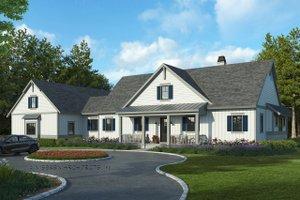Farmhouse Exterior - Front Elevation Plan #928-325
