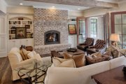 Country Style House Plan - 4 Beds 4.5 Baths 5274 Sq/Ft Plan #928-12 Interior - Family Room