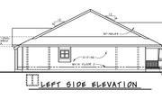 Cottage Style House Plan - 4 Beds 3 Baths 2506 Sq/Ft Plan #20-2413 Exterior - Other Elevation