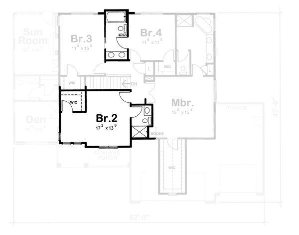 Dream House Plan - Traditional Floor Plan - Other Floor Plan #20-1762