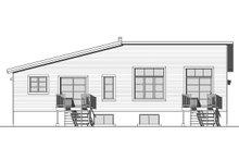 Dream House Plan - Modern Exterior - Rear Elevation Plan #23-2673