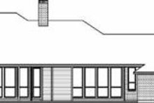 House Design - Traditional Exterior - Rear Elevation Plan #84-150