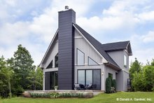 House Plan Design - Contemporary Exterior - Other Elevation Plan #929-85