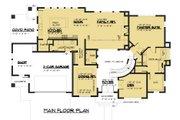 Modern Style House Plan - 4 Beds 3.5 Baths 3809 Sq/Ft Plan #1066-53 Floor Plan - Main Floor Plan