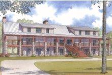 Craftsman Exterior - Front Elevation Plan #923-10