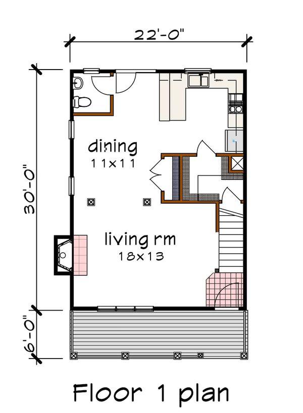 Dream House Plan - Southern Floor Plan - Main Floor Plan #79-172