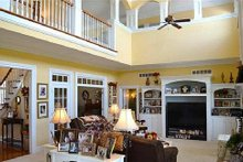 Southern Interior - Family Room Plan #137-128