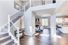 Home Plan - Contemporary Interior - Entry Plan #1066-4