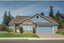 Dream House Plan - Traditional Exterior - Front Elevation Plan #48-273