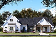 Dream House Plan - Country Exterior - Front Elevation Plan #923-130